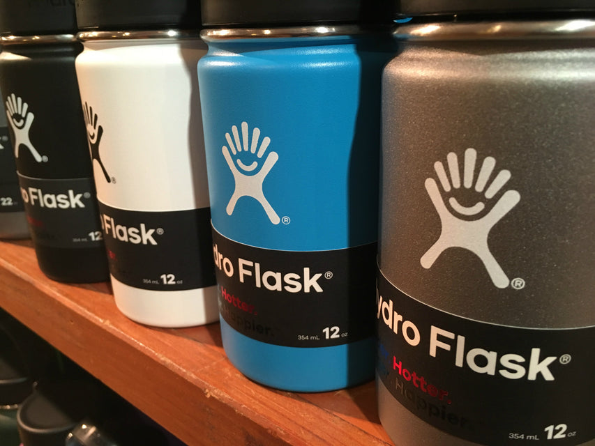 hydroflask insulated stainless steel water bottles