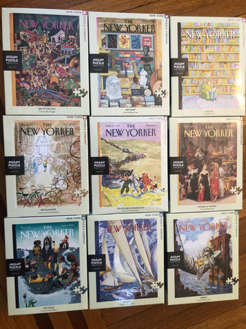 new new yorker jigsaw puzzles arrived
