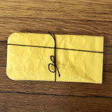 siwa yellow paper eyeglass case
