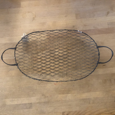 fog linen metal wire tea tray