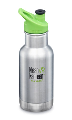 klean kanteen brushed stainless insulated kid classic 12oz designed with kids in mind