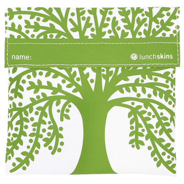 green tree reusable sandwich bag