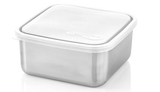 clear u-konserve to-go large container is a leak-proof 18/8 food grade stainless steel food container. BPA-free, and dishwasher safe