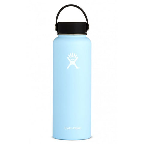 Hydroflask 40oz frost insulated water bottle in Princeton New Jersey