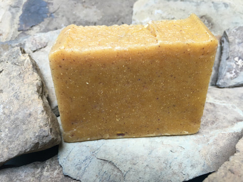 organic holiday spice soap made from all-natural food grade organic oils & essential oils. vegan. small batch locally made.