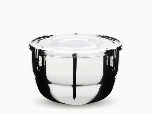 stainless steel container - 18 cm