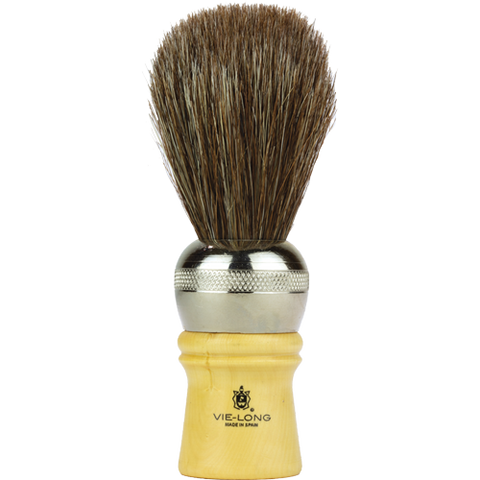 badger vie-long cachurro horse hair shaving brush is great performing and made with cruelty-free horse hair