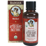 badger after-shave face tonic - navigator class man care has a light witch hazel based bracer with a cooling hit of menthol