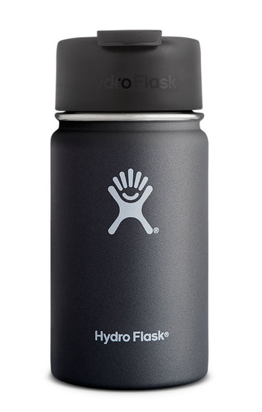 insulated drink bottle 12oz wide-mouth - black