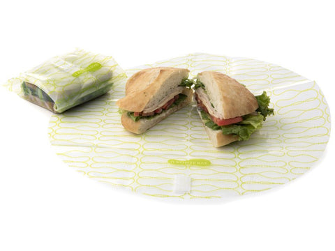 clear lime sandwich wrap