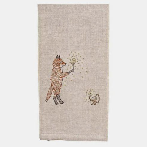 sparklers tea towel tea towel from coral & tusk with embroidery on 100% linen