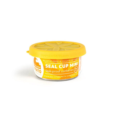 ecolunchbox seal cup mini 3oz leak-proof food container may be quite small, but it's a big help