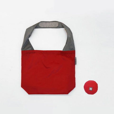 flip & tumble 24-7 reusable shopping bag red