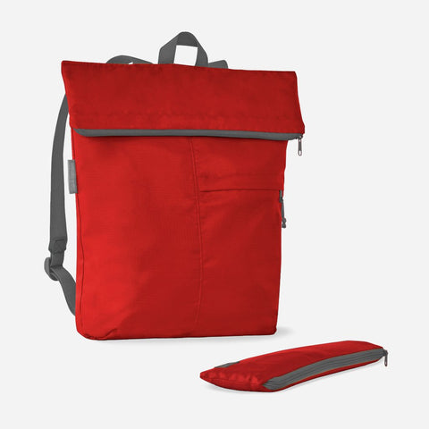 flip & tumble backpack, red