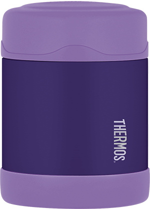 thermos food jar- purple 10 oz