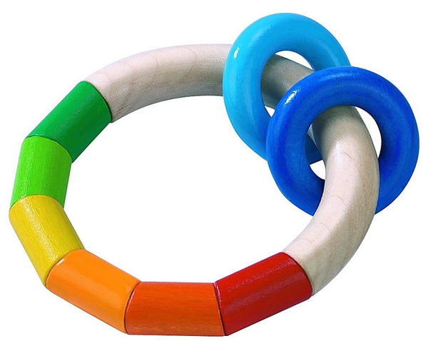 teething / clutching toy - kringelring