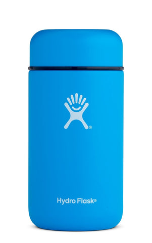 hydro flask 18 oz pacific food flask isperfect for keeping your soup hot on the go. made from food grade stainless steel and are BPA and phthalate free.