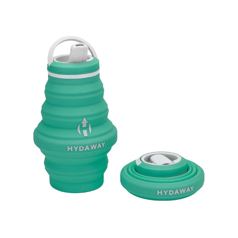 mist hydaway 17oz water bottle is the collapsible, ultra-stashable, planet-friendly, go-anywhere way to stay hydrated