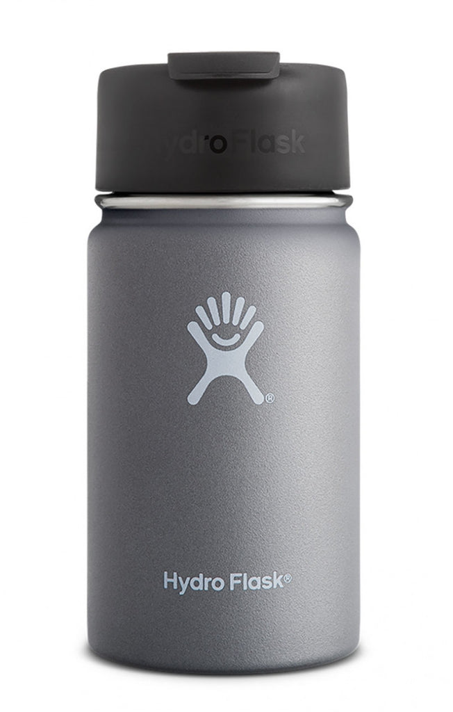 insulated drink bottle 12oz wide-mouth - graphite