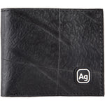 alchemy goods jackson wallet is durable, made from upcycled truck inner tubes. made in the USA