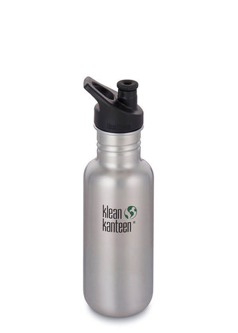narrow mouth non-insulated 18oz, brushed stainless