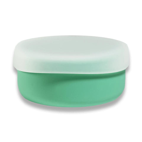 modern-twist mint snack set is a replacement for plastic containers. 100% pure food-grade silicone