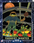 farmers wanted, nasa space travel poster