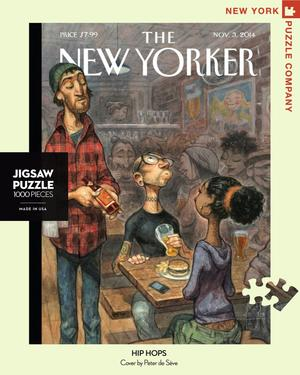 hip hops, new yorker magazine cover