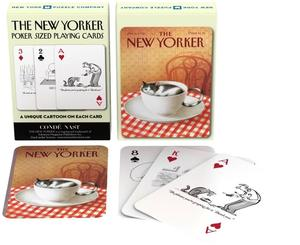 new york puzzle company cat cartoons playing cards new yorker