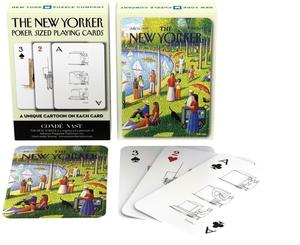 new york puzzle company fine arts cartoons playing cards new yorker