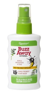 quantum health, buzz away extreme spray 2 oz is a plant based tick and mosquito alternative to DEET