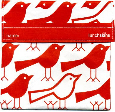 red bird reusable sandwich/snack bag