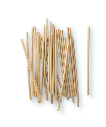straw straws by bambu - set of 50 biodegradable and compostable straws made from 100% natural wheat
