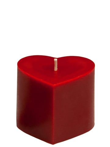 sunbeam candles large 100% pure beeswax heart are hand-crafted with an unbleached, lead-free cotton wick