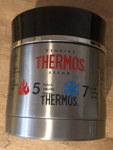 thermos sipp food jar 10 oz brushed stainless - black on sale