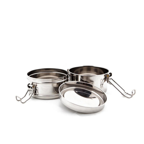 to-go ware stainless steel tiffin snack