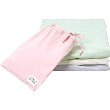 under the nile pink fitted organic cotton crib sheet has no no chemicals or pesticides