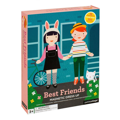 petit collage best friends magnetic dress up choose outfits and accessories with this fashion-packed set. Age 3+
