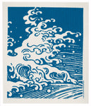 swedish dishcloth - waves