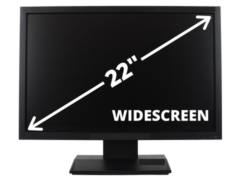 "22"" Widescreen LCD Monitor - Various Brands"