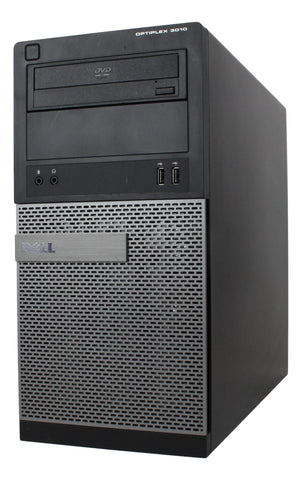 Dell Optiplex 3010 Tower PC Intel Core i5 3.1GHz | 8GB | 120GB SSD & 1TB HDD | HDMI