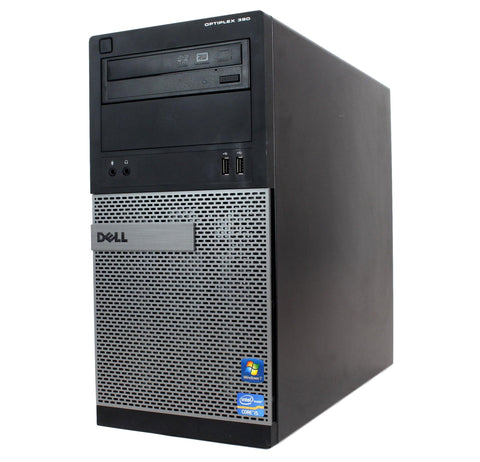 Dell Optiplex 390 Tower Core i5-2400 @ 3.10GHz | 8GB | 1TB | DVDRW | WIN 10