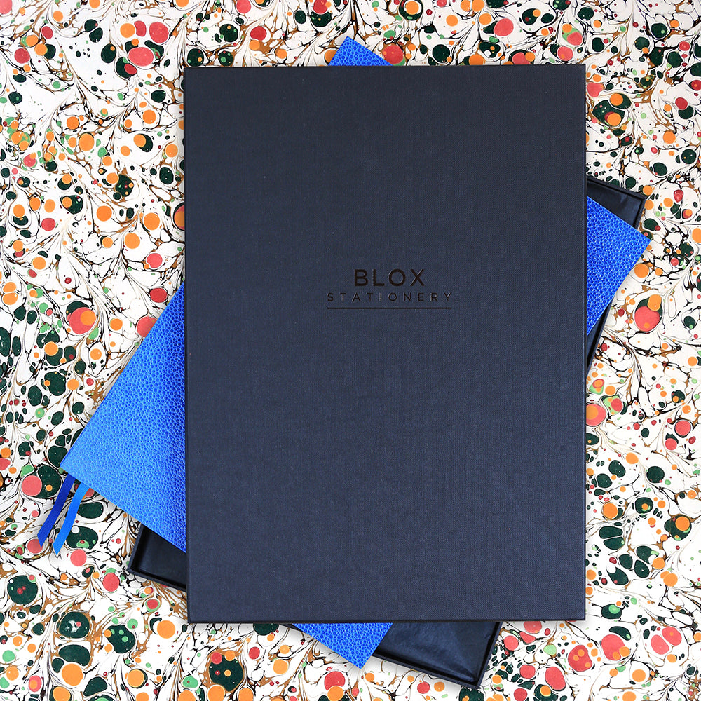 The BLOX A4 Notebook: Tissue Lined Gift Box