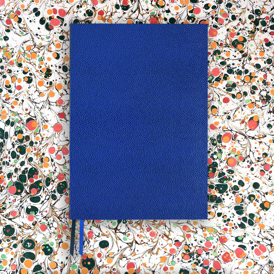 The BLOX A4 Notebook: Royal Blue