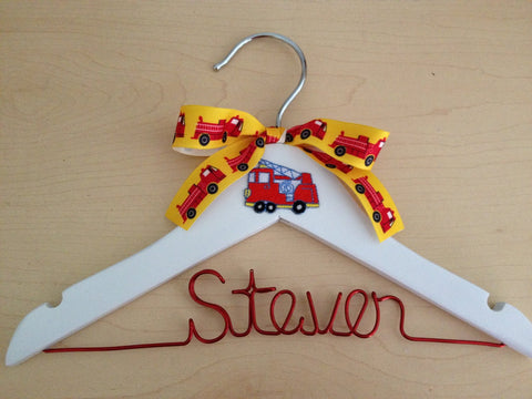Baby Boy Hanger / Children's Personalized Hanger / Kids Hanger / Boy Hanger / Baby Shower Gift- DESIGN YOUR OWN