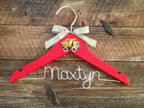Children's Personalized Hanger / Baby Hanger / Kids Hanger / Boy Hanger / Baby Shower Gift- DESIGN YOUR OWN