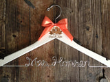 Beach Wedding Hanger / Tropical Bridal Hanger / Bride Hanger / Tropical Wedding / Personalized Hanger / Beach Island Wedding