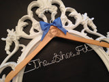 Disney Bride Hanger / Cinderella Hanger / Disney Wedding / Wedding Hanger / Personalized Hanger / Bridal Hanger / Fairytail Wedding
