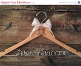 Western Cowboy Boots Wedding Hanger / Rustic Brides Hanger / Bridal Hanger / Country Wedding / Rustic Wedding / Personalized Hanger