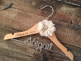 Flower Girl Hanger / Childrens Hanger / Kids Hanger / Flower Girl Gift / Personalized Hanger / Wedding Hanger / Baby Shower Gift / Bridal
